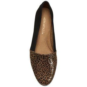 NWOB Aerosoles Trend Setter Leopard Combo Loafer